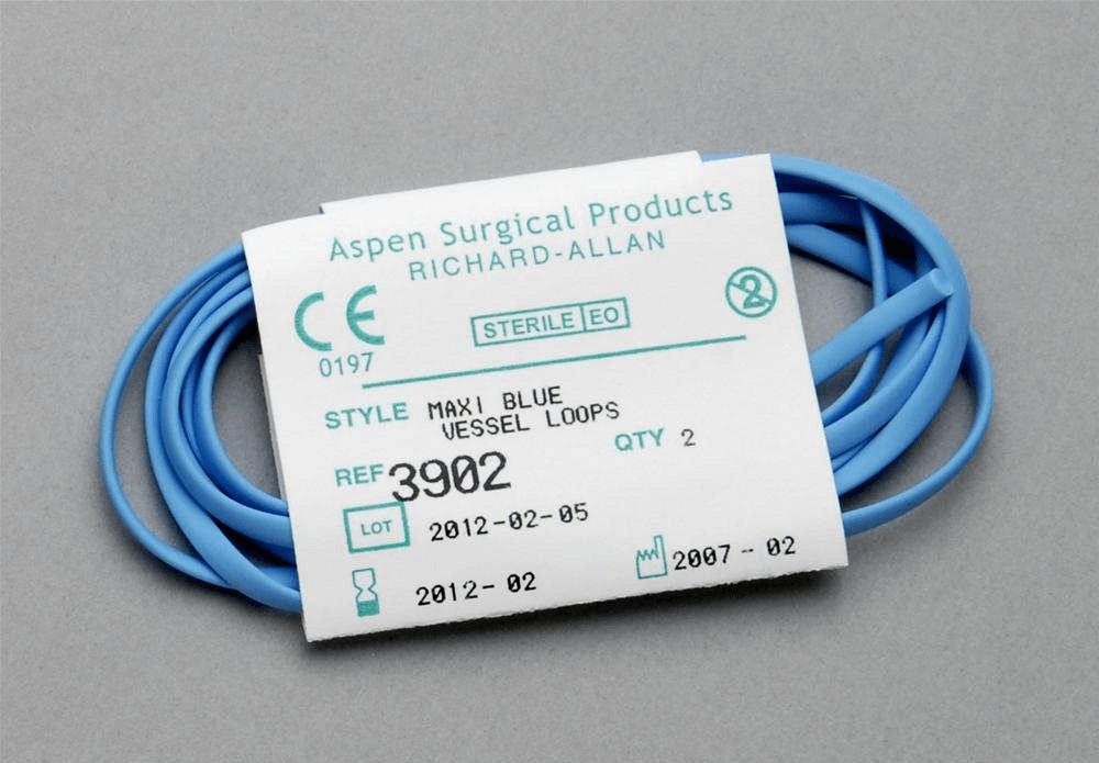 Aspen Surgical Vessel Loops Maxi Blue
