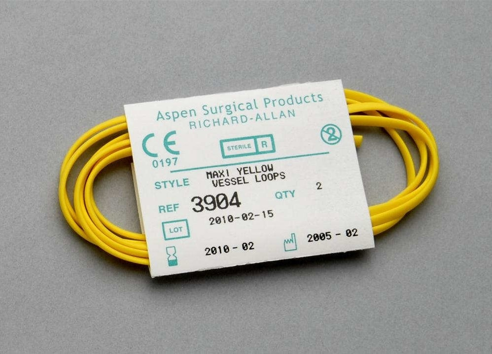 Aspen Surgical Vessel Loops Maxi Yellow