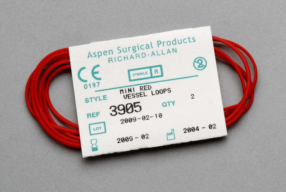 Aspen Surgical Vessel Loops Mini Red