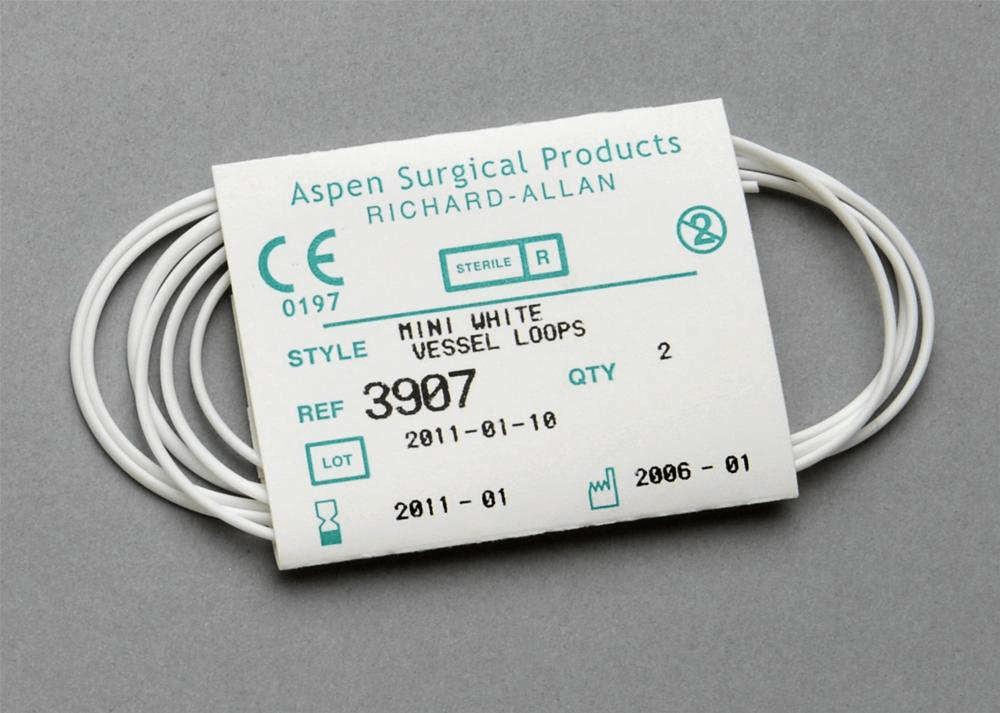 Aspen Surgical Vessel Loops Mini White