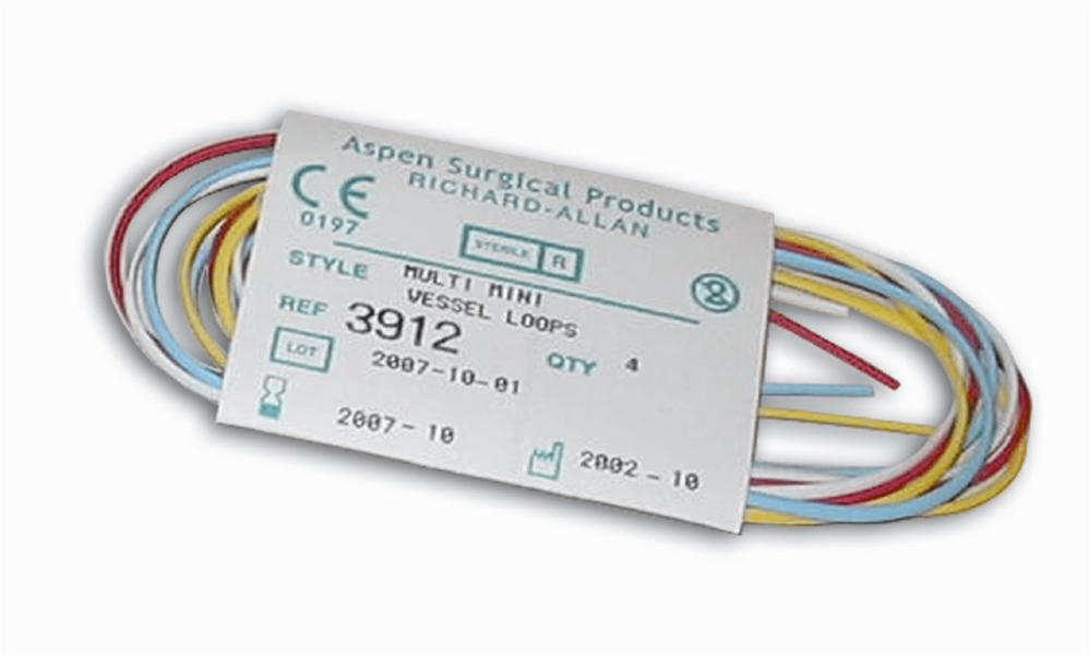 Aspen Surgical Vessel Loops Mini – Four Color