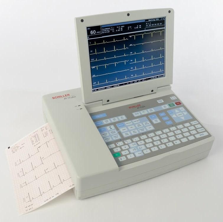 ECG CARDIOVIT AT-10 plus