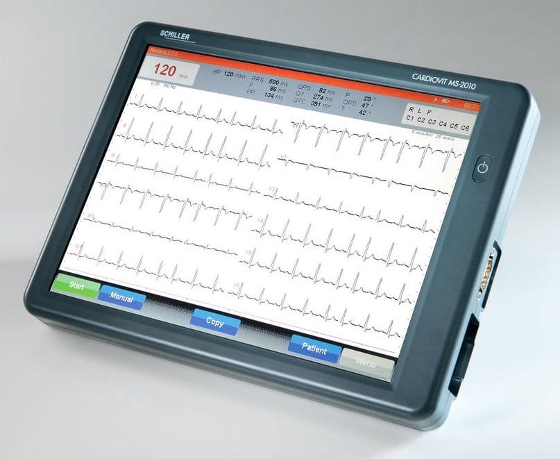 ECG CARDIOVIT MS-2010