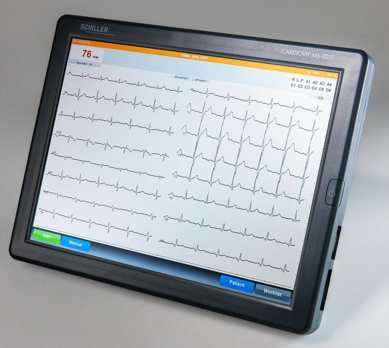 ECG CARDIOVIT MS-2015