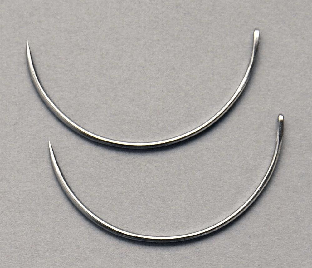 Eye Needle 3/8 Circle Reverse Cutting, .021″ x .748″