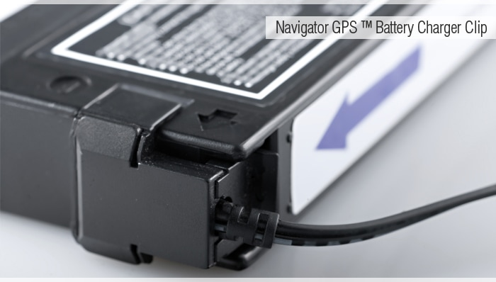 RMD NAVIGATOR GPS REPLACEMENT BATTERY CLIP