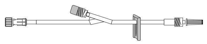 """M-567 8″ Standardbore """"Y"""" I.V. Extension Set"""