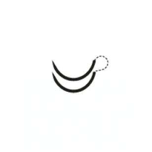 PDO 48mm 1/2 Curve Taper Point, RA-1060Q